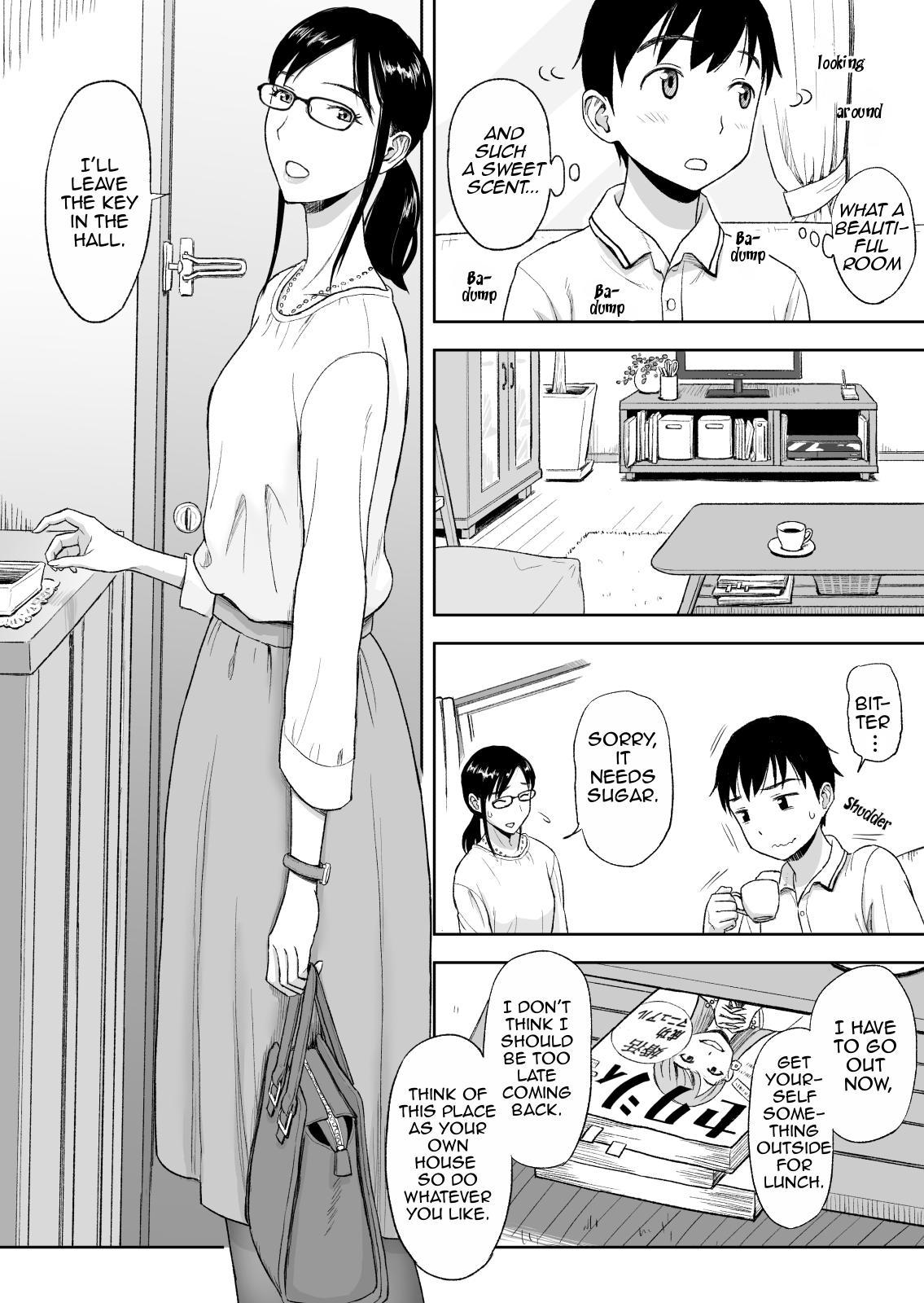 Konkatsu ni Hagemu Oba wa Oi ni Motomerarete Choppiri Ureshii | Marriage Seeking Aunt is a Little Glad About Being Pursued by Her Nephew. 2