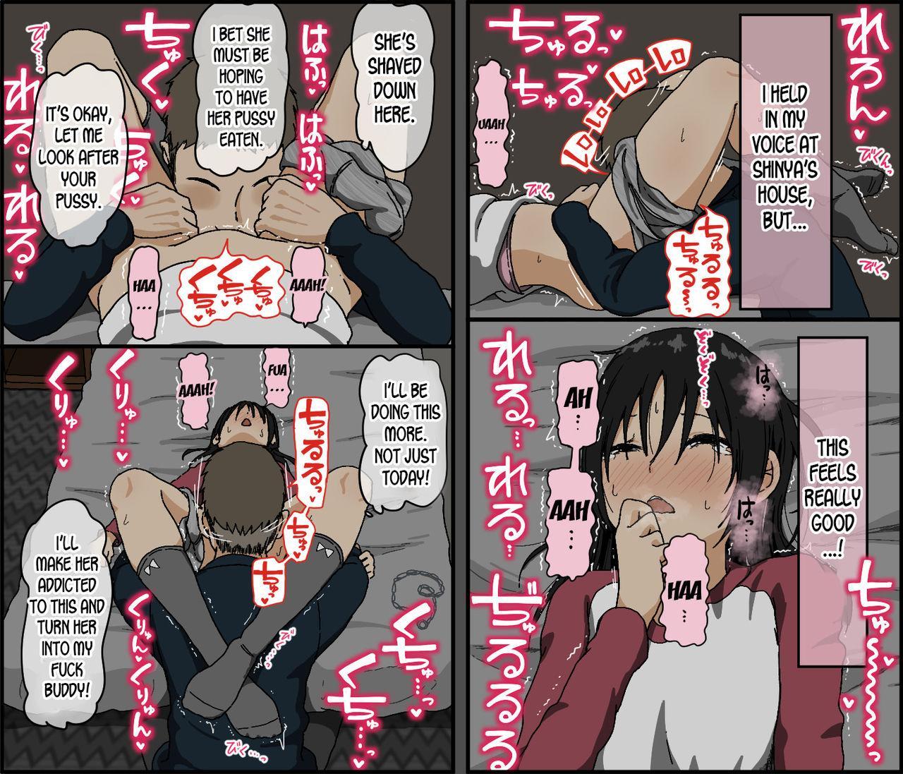 Kareshi Mochi no Kurokami Irojiro Binyuu Joshidaisei ga Cunni dake Mikeiken de Kare no Tomodachi ni Naisho de Hatsu Cunni Sarete Amari nimo Kimochiyo Sugite Sonomama Nagasare Sex Shita 18