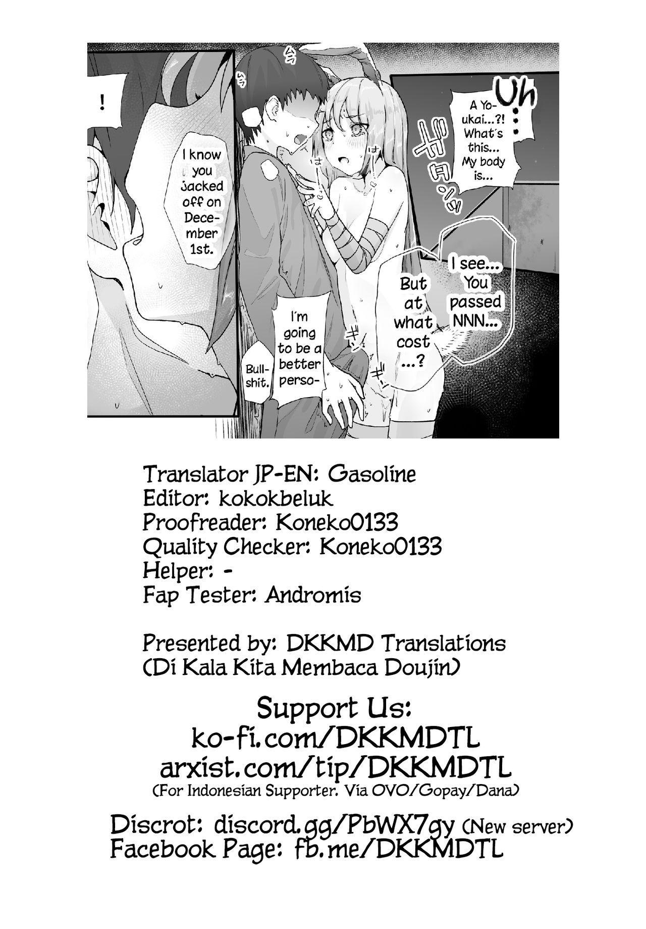Hatsujou Usagi no Yoru wa Nagai | The Long Night of a Rabbit in Heat 27