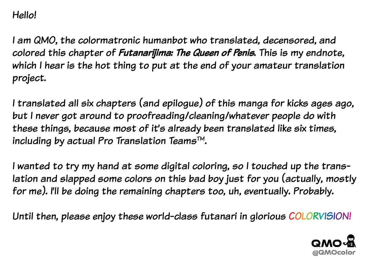 [Kaguya] Futanarijima ~The Queen of Penis~ Ch. 1 [Decensored] [Colored] {QMOcolor} 33