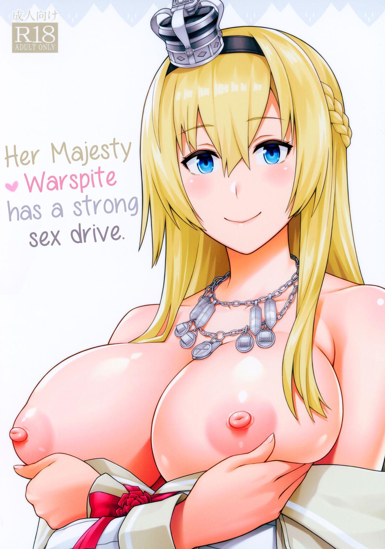 War-sama wa Seiyoku ga Tsuyoi.   Her Majesty Warspite has a strong sex drive. 0
