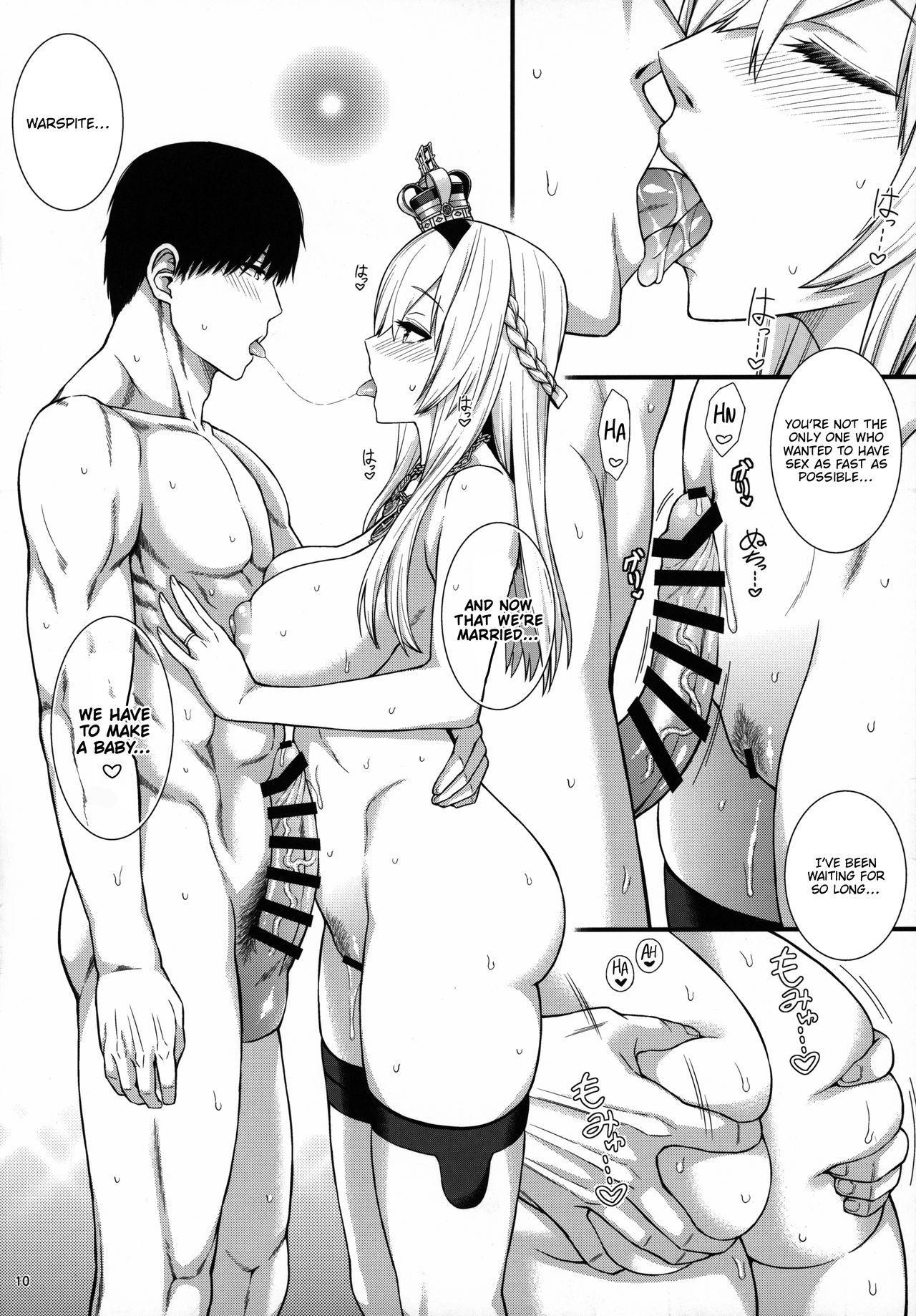 War-sama wa Seiyoku ga Tsuyoi.   Her Majesty Warspite has a strong sex drive. 10