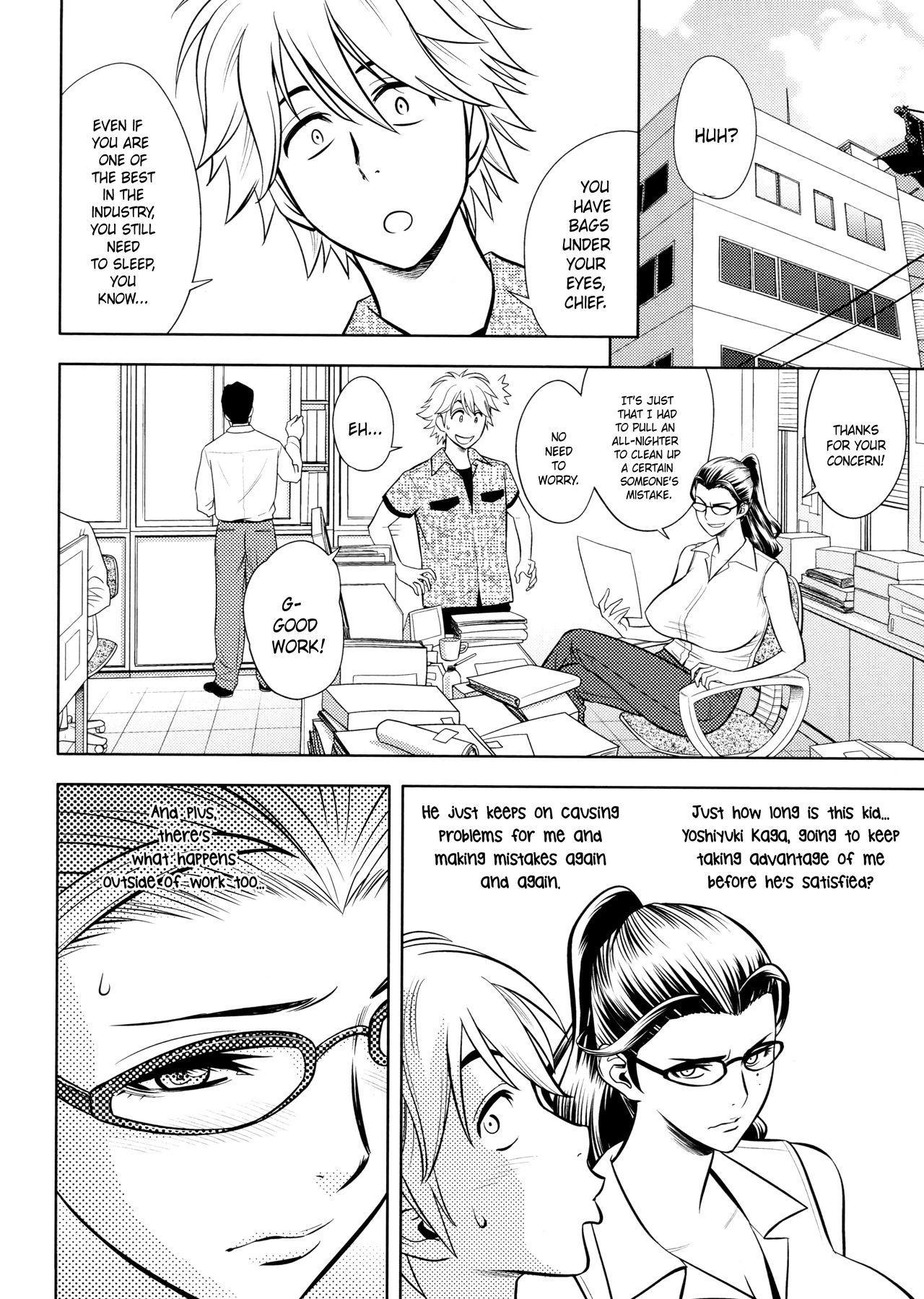 [Tatsunami Youtoku, Yamasaki Masato] Bijin Henshuu-chou no Himitsu | Beautiful Editor-in-Chief's Secret Ch. 1-8 [English] [Forbiddenfetish77, Red Vodka, Crystalium, CEDR777] [Decensored] 105