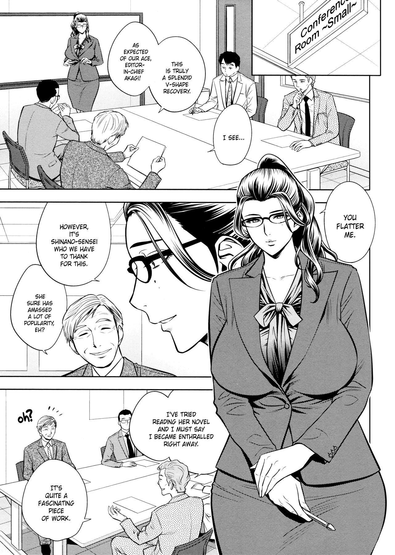 [Tatsunami Youtoku, Yamasaki Masato] Bijin Henshuu-chou no Himitsu | Beautiful Editor-in-Chief's Secret Ch. 1-8 [English] [Forbiddenfetish77, Red Vodka, Crystalium, CEDR777] [Decensored] 132