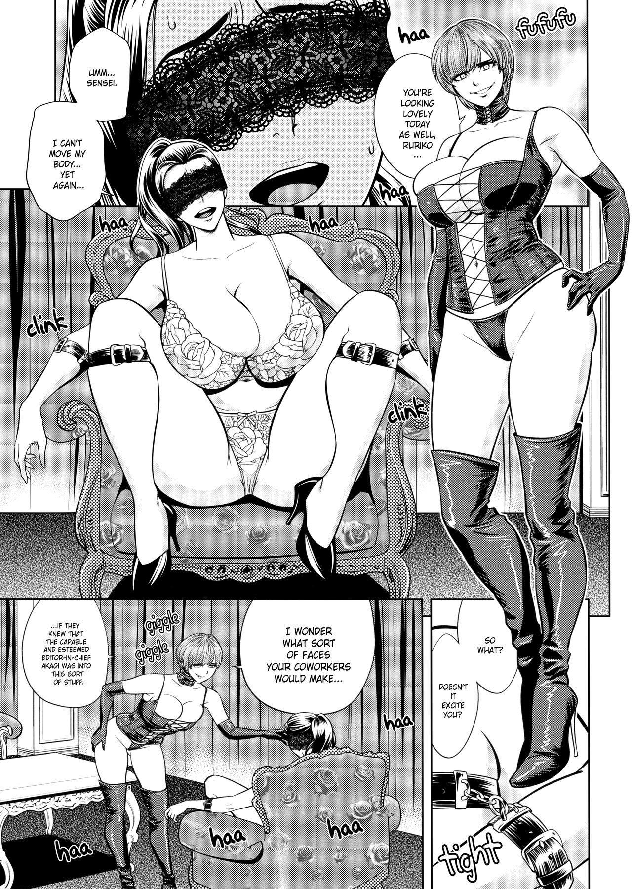 [Tatsunami Youtoku, Yamasaki Masato] Bijin Henshuu-chou no Himitsu | Beautiful Editor-in-Chief's Secret Ch. 1-8 [English] [Forbiddenfetish77, Red Vodka, Crystalium, CEDR777] [Decensored] 136