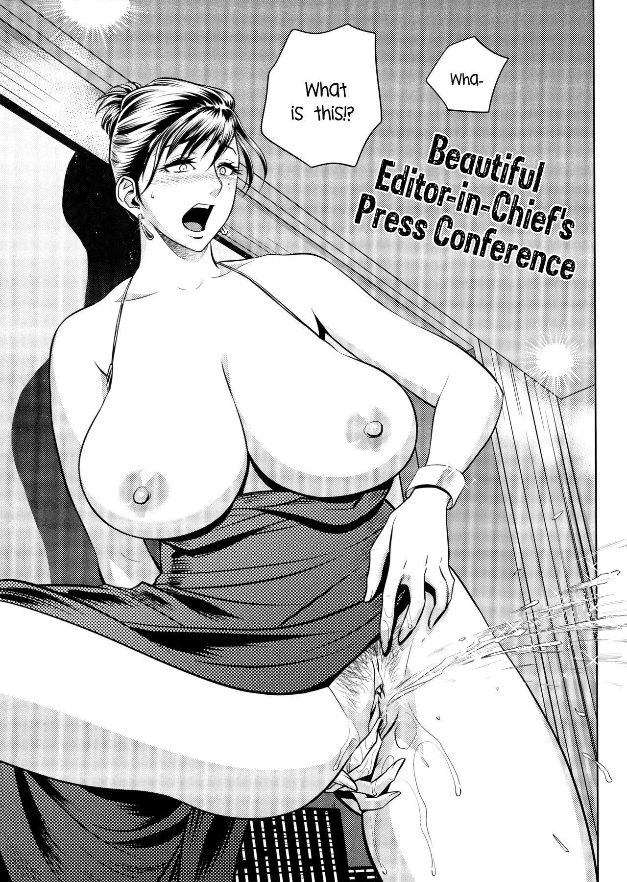 [Tatsunami Youtoku, Yamasaki Masato] Bijin Henshuu-chou no Himitsu | Beautiful Editor-in-Chief's Secret Ch. 1-8 [English] [Forbiddenfetish77, Red Vodka, Crystalium, CEDR777] [Decensored] 152