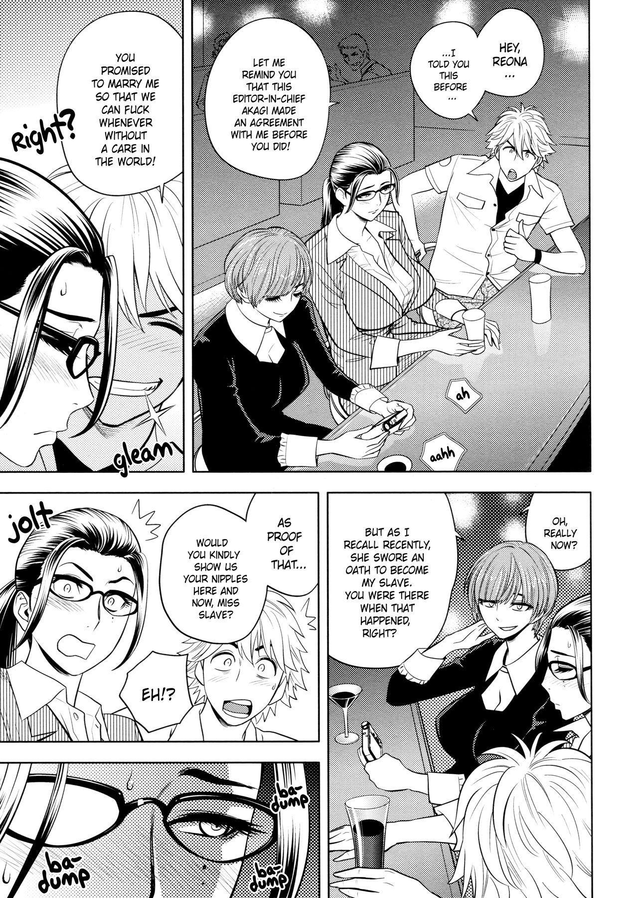 [Tatsunami Youtoku, Yamasaki Masato] Bijin Henshuu-chou no Himitsu | Beautiful Editor-in-Chief's Secret Ch. 1-8 [English] [Forbiddenfetish77, Red Vodka, Crystalium, CEDR777] [Decensored] 154