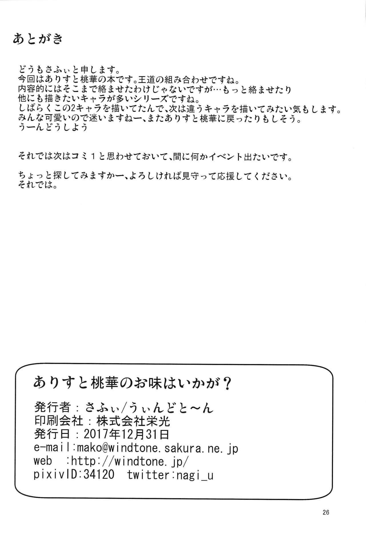 Arisu to Momoka no Oaji wa Ikaga 24