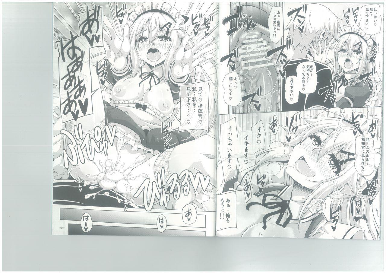 (C96) [Dokomademo Aoi Sora ni Ukabu Niku. (Nikusoukyuu.)] 9a-91-chan wa Gohoshi Shitai. (Girls' Frontline) 11