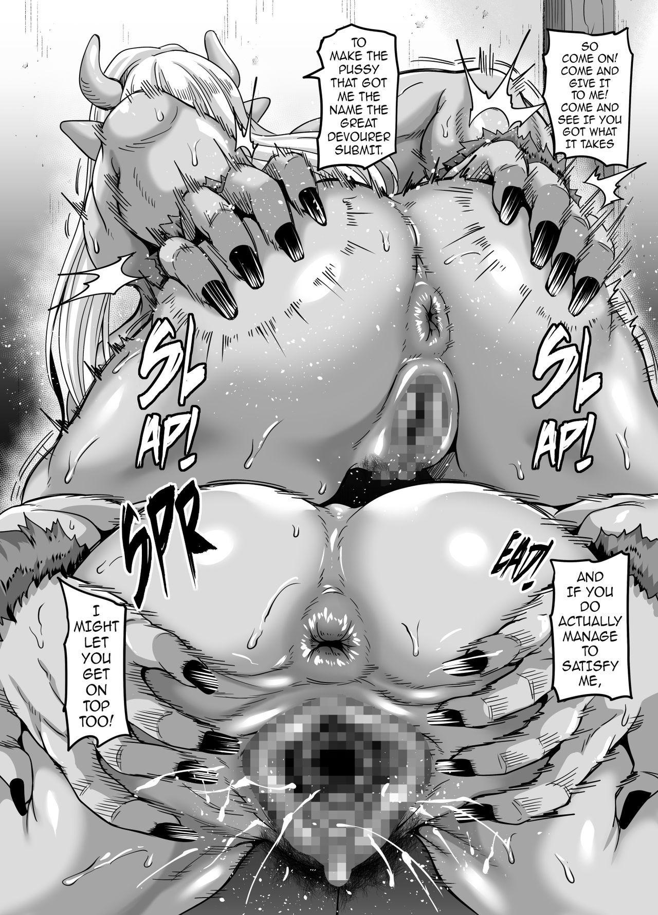 Mesu Ogre wa Kentauros Chinpo o Musabori Okasu | Female Ogre is Gonna Fuck Centaur Horse Cock Till She Drops 18