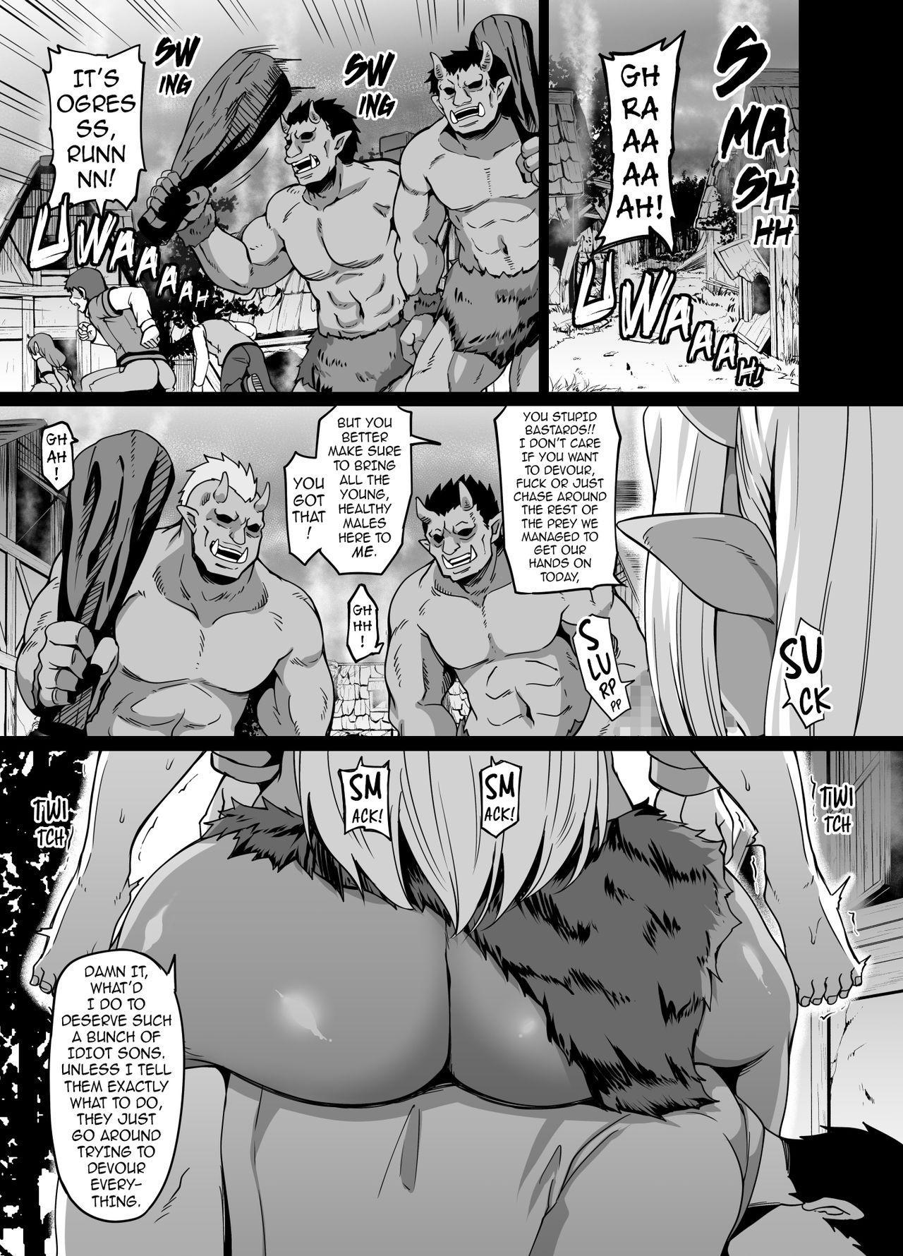 Mesu Ogre wa Kentauros Chinpo o Musabori Okasu | Female Ogre is Gonna Fuck Centaur Horse Cock Till She Drops 1
