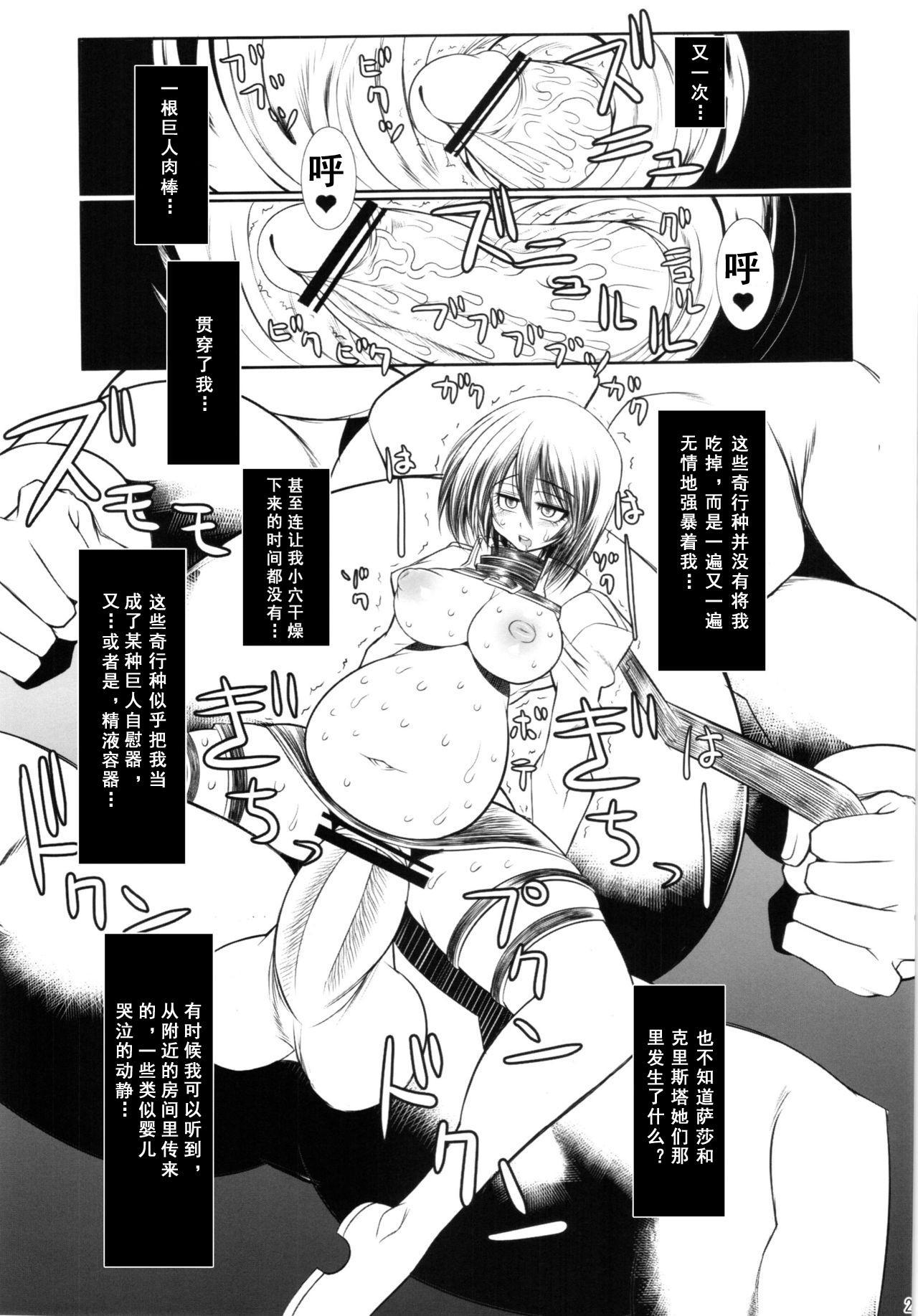 Shingeki no Daishou + paper   进击的代价 23