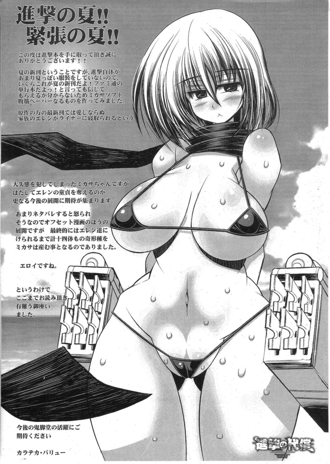 Shingeki no Daishou + paper   进击的代价 28