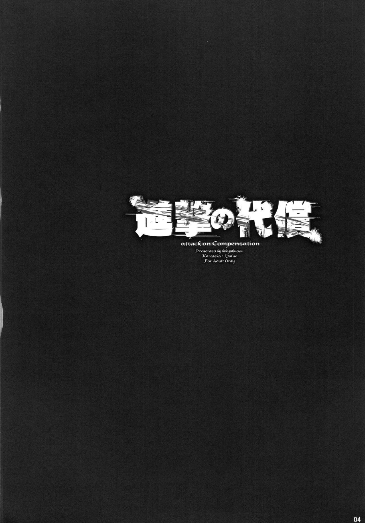 Shingeki no Daishou + paper   进击的代价 4