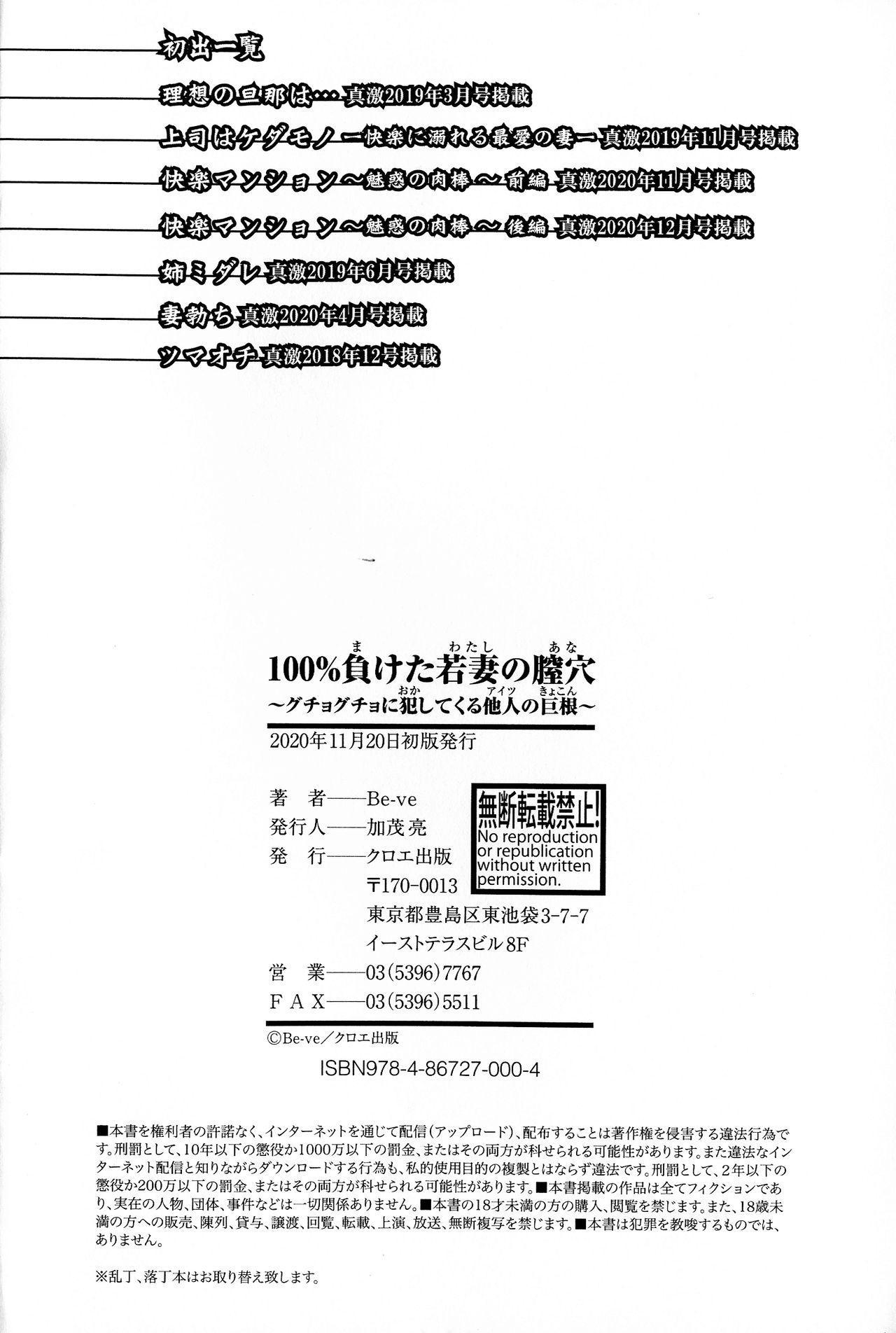 100% Maketa Watashi no Ana - Guchogucho ni Okashitekuru Aitsu no Kyokon 197