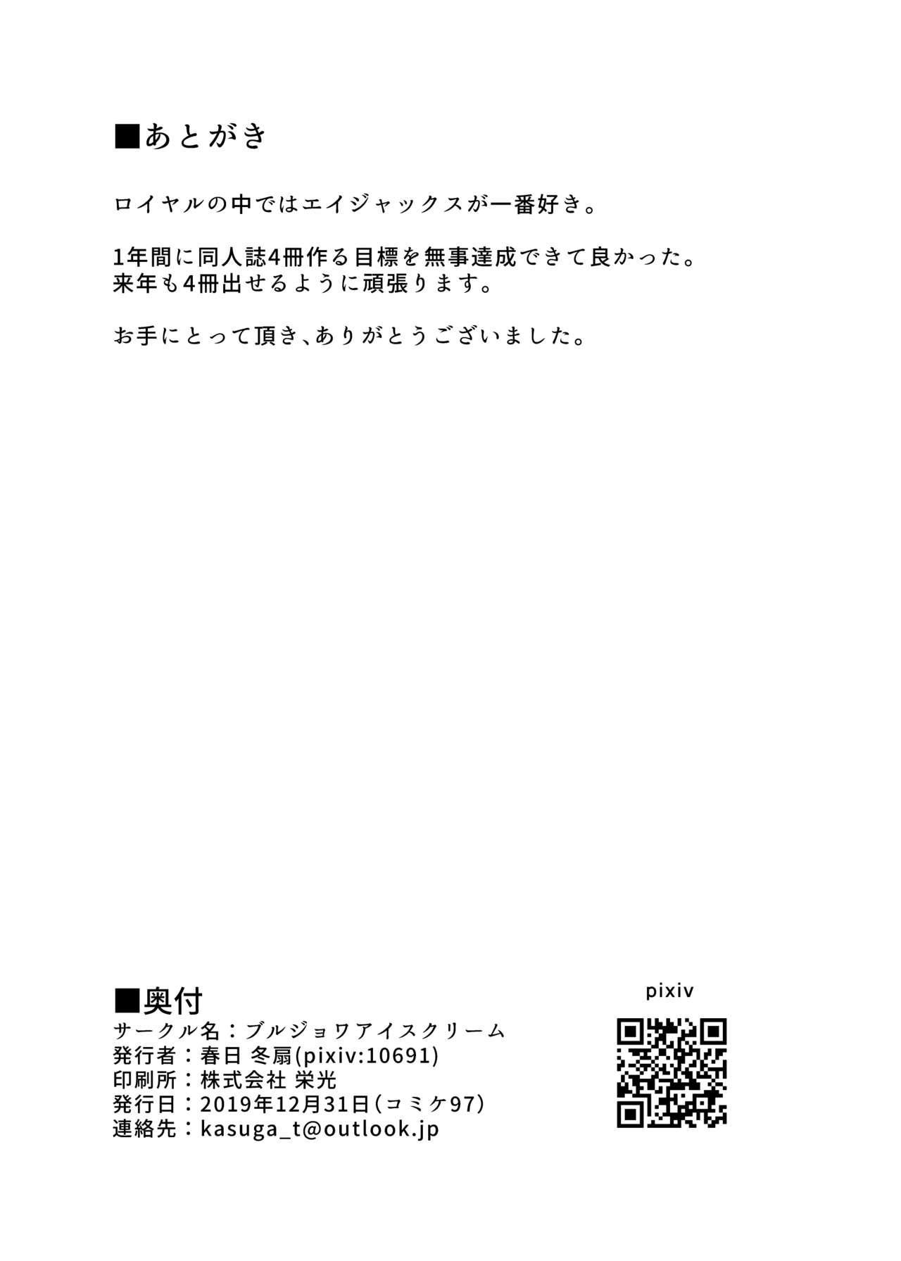 Royal o Shikikan-sama ni Zeenbu Sashiagemasu 20