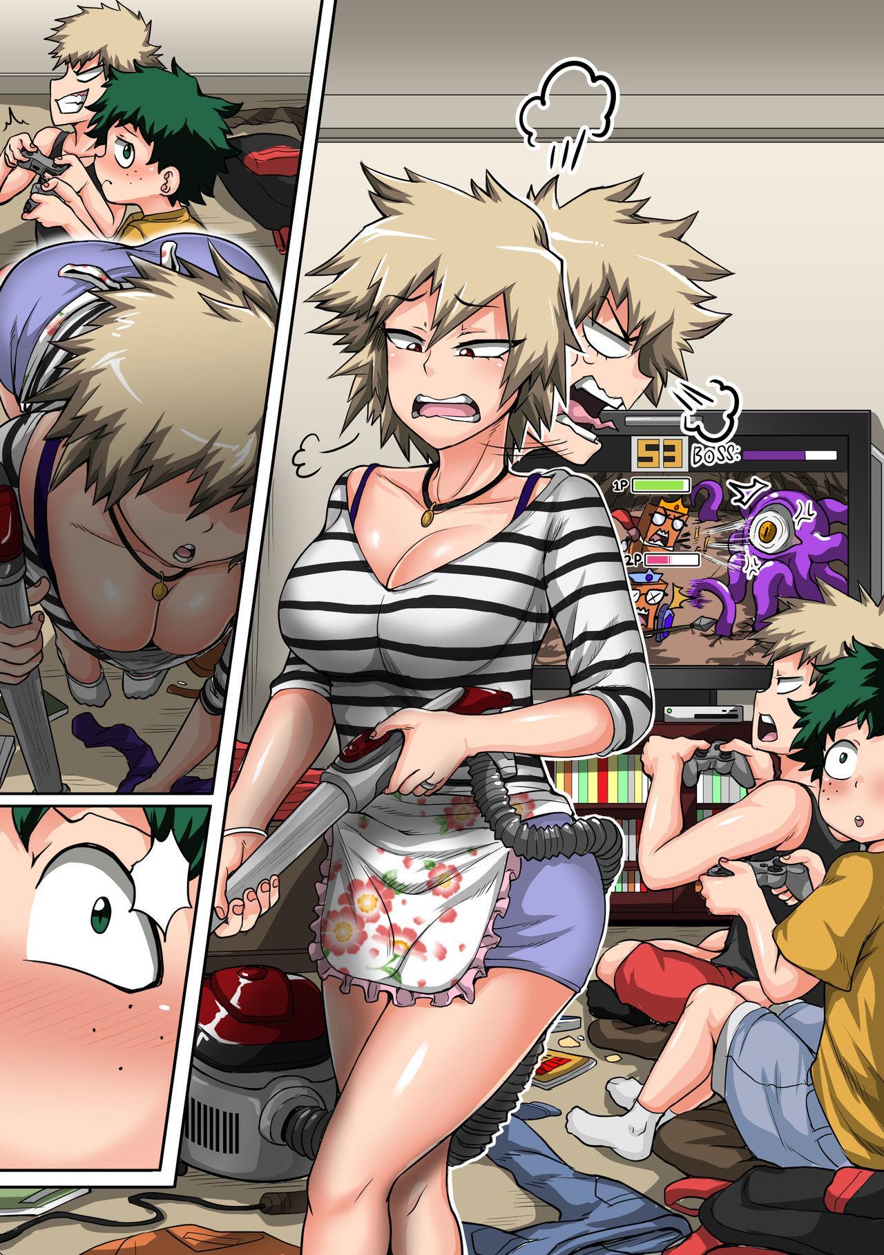 [Juna Juna Juice] Bakugou Mama Rakugaki 1~15 + Bonus | Bakugou's Mom Doodle 1~15 + Bonus [English] 54