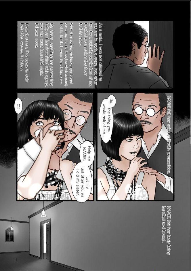 "HARAMI-KIBYOSHI Ep7 ""The birth of harlot NAMIE"" 10"