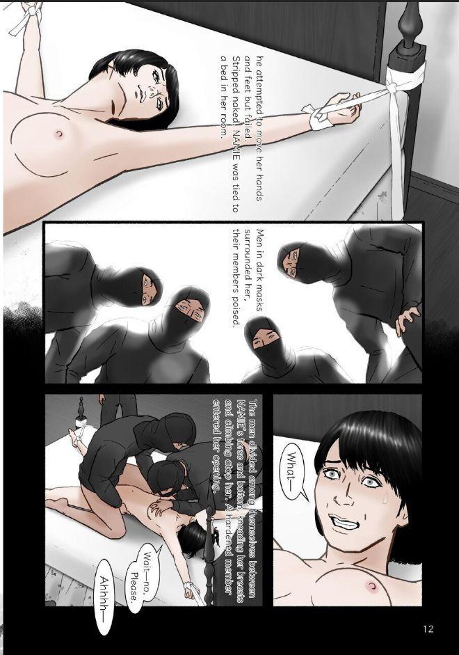 "HARAMI-KIBYOSHI Ep7 ""The birth of harlot NAMIE"" 11"