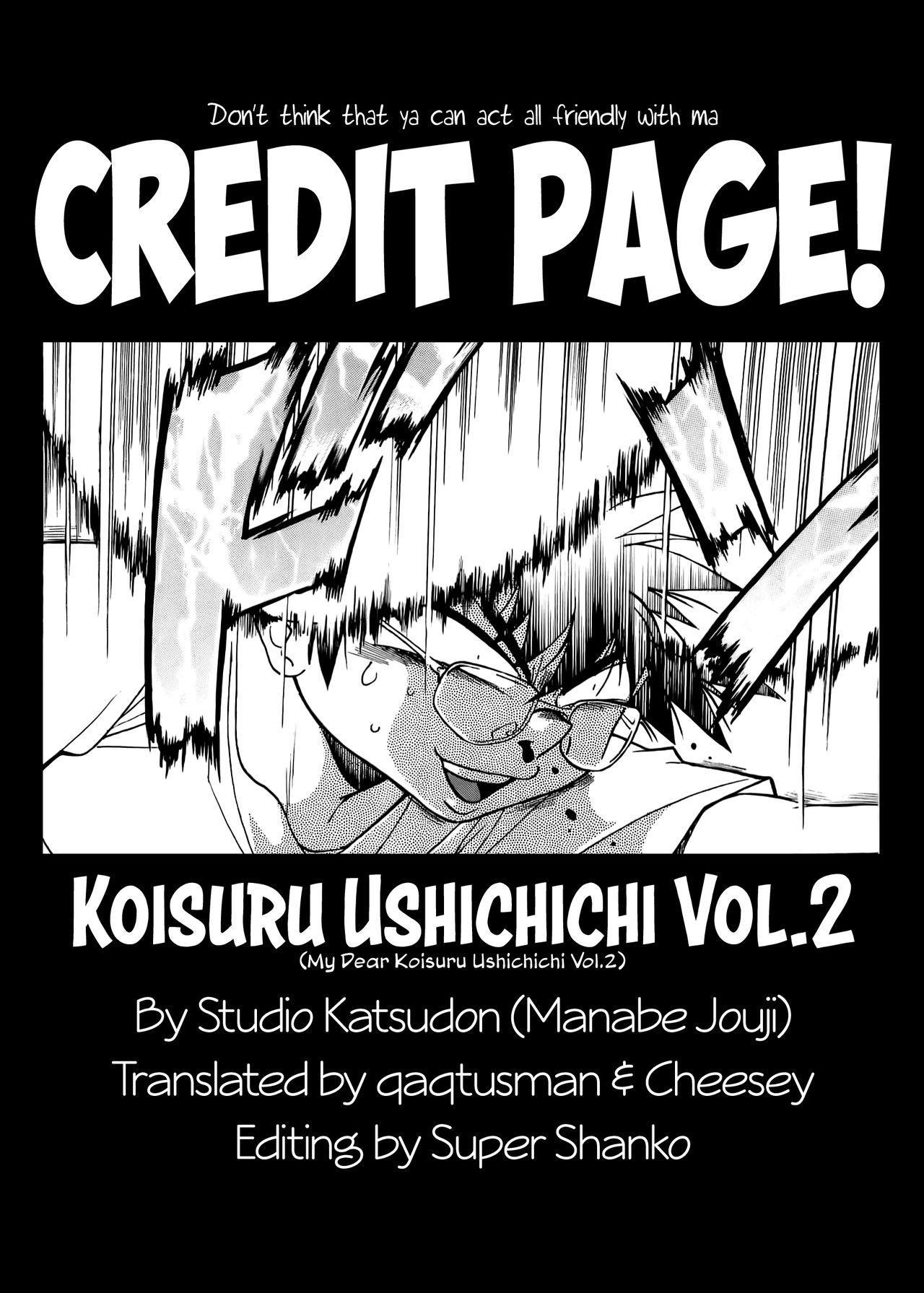 (C76) [Studio Katsudon (Manabe Jouji)] Koisuru Ushi-Chichi - Dear My Ushi-Chichi 2 [English] 117