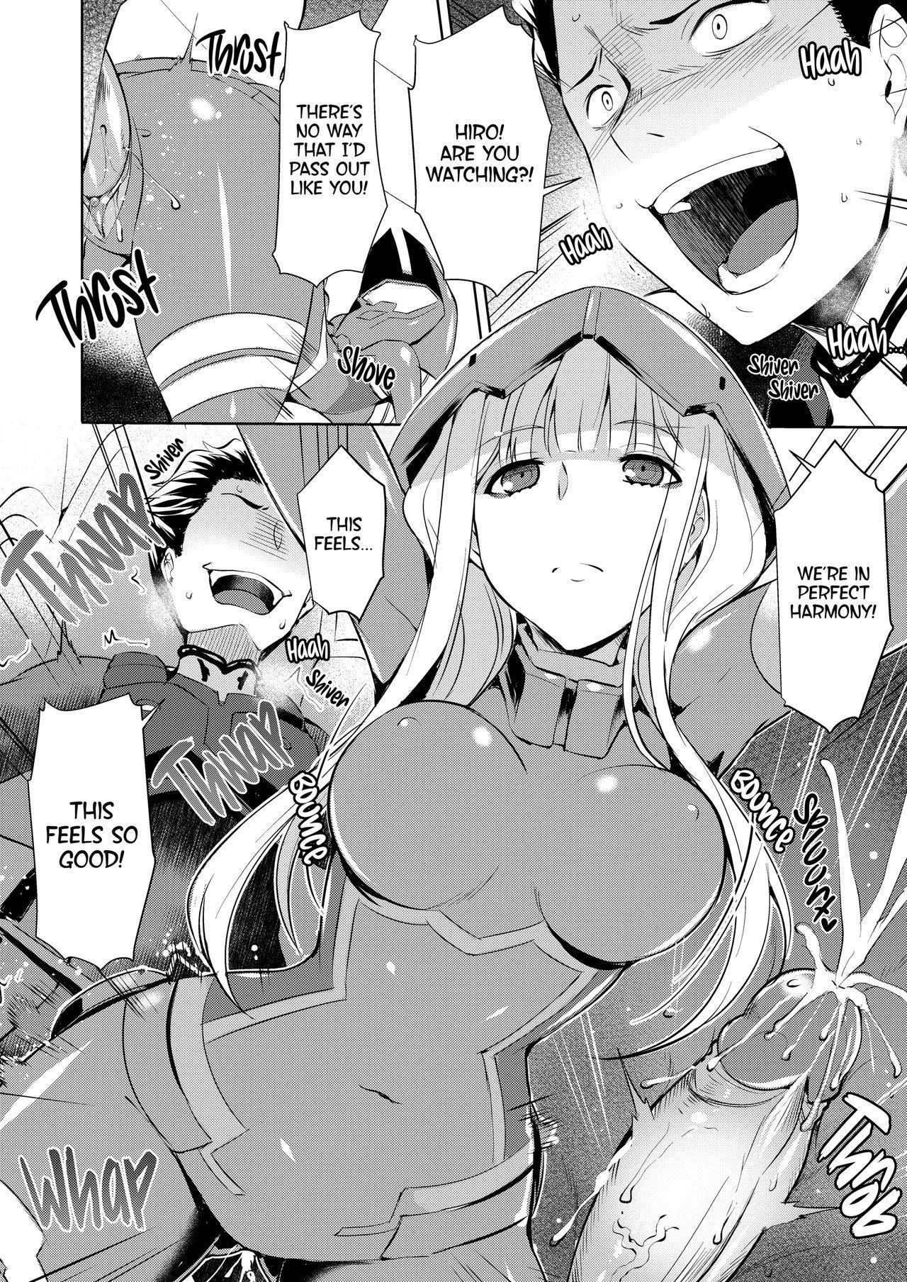 Mitsuru in the Zero Two 8