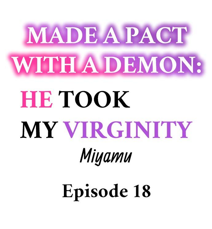 Made a Pact With a Demon: He Took My Virginity 180
