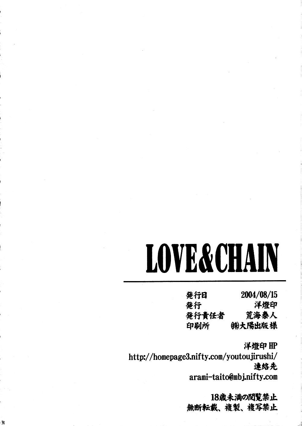 LOVE & CHAIN 33