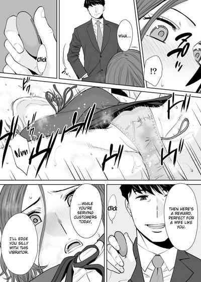 """Otto no Buka ni Ikasarechau..."" Aragaezu Kanjite Shimau Furinzuma | ""My Husband's Subordinate is Going to Make Me Cum..."" An Adulterous Wife Who Can't Resist the Pleasure Chapter 11 9"