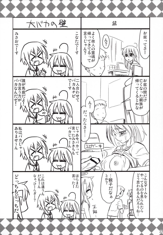 Konata ga Matsu Izumi-ke Chichi ga Inuma no Ippaku Futsuka 21