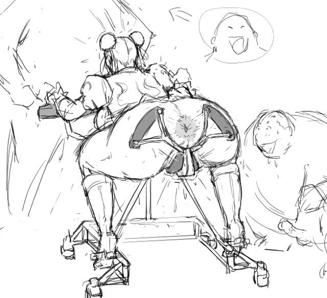 [8 no Ji Club]   Anguish Battle (Street Fighter / King of fighters ) + site sketches 22
