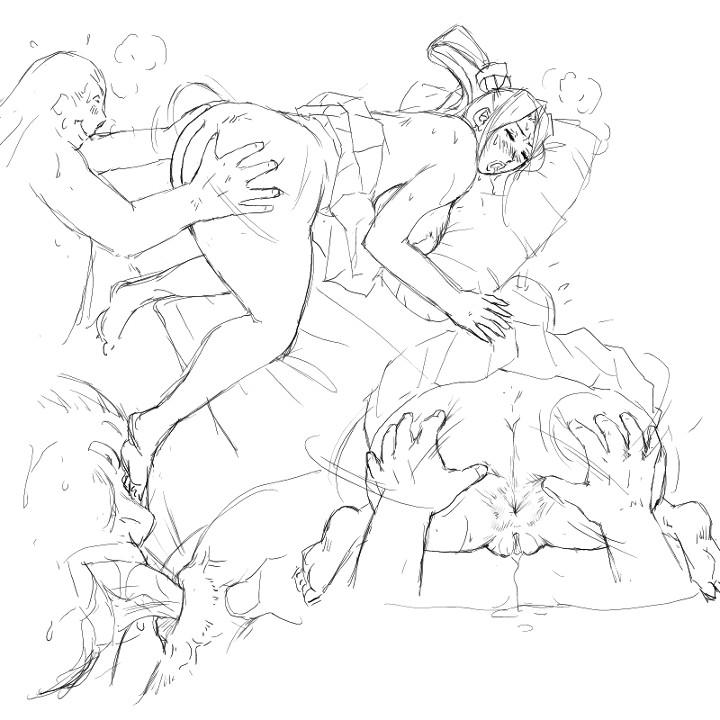 [8 no Ji Club]   Anguish Battle (Street Fighter / King of fighters ) + site sketches 67