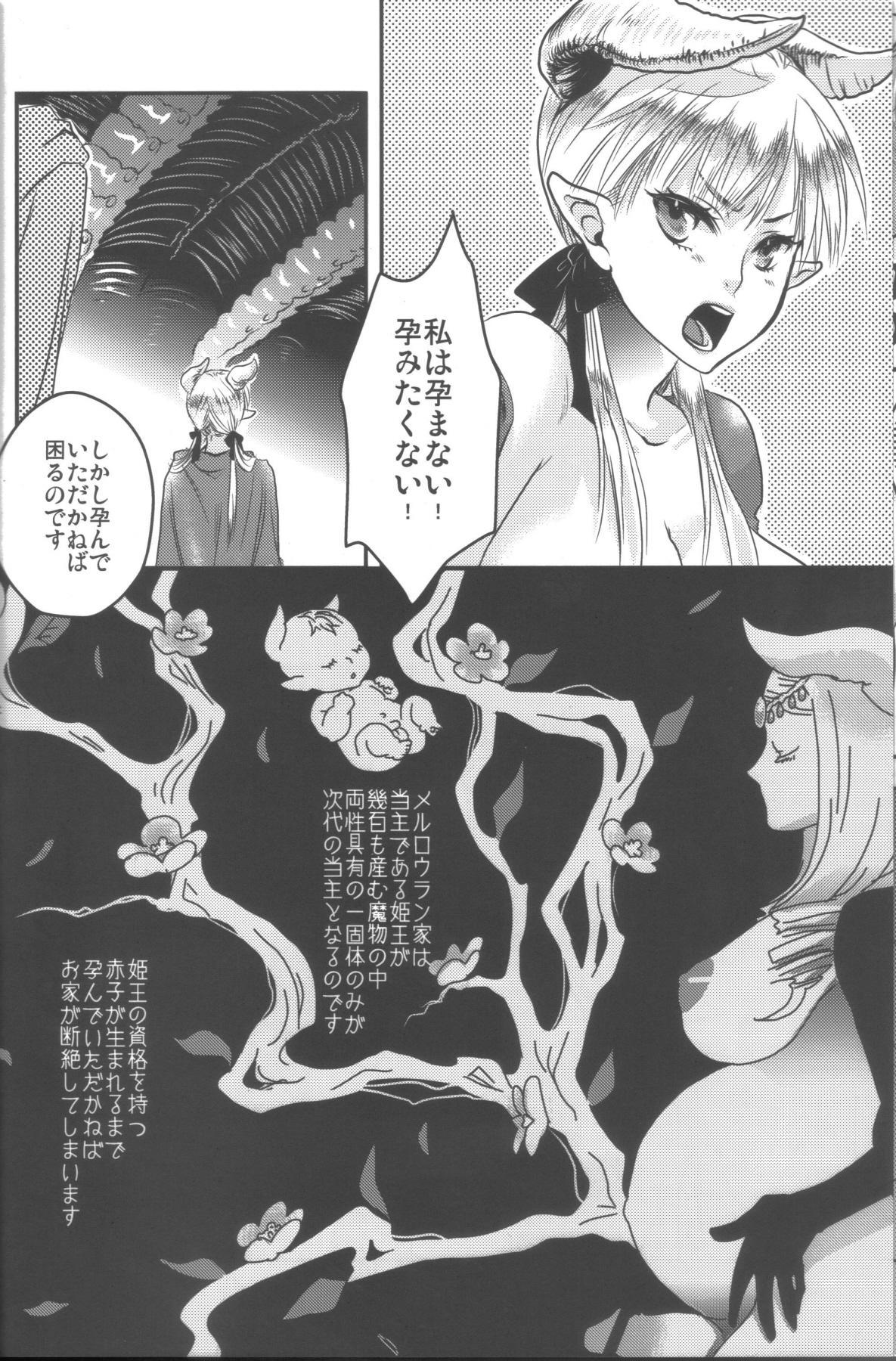 (C78) [Pish Lover (Amatake Akewo)] Hime Ouji-sama wa Harami-goro 4