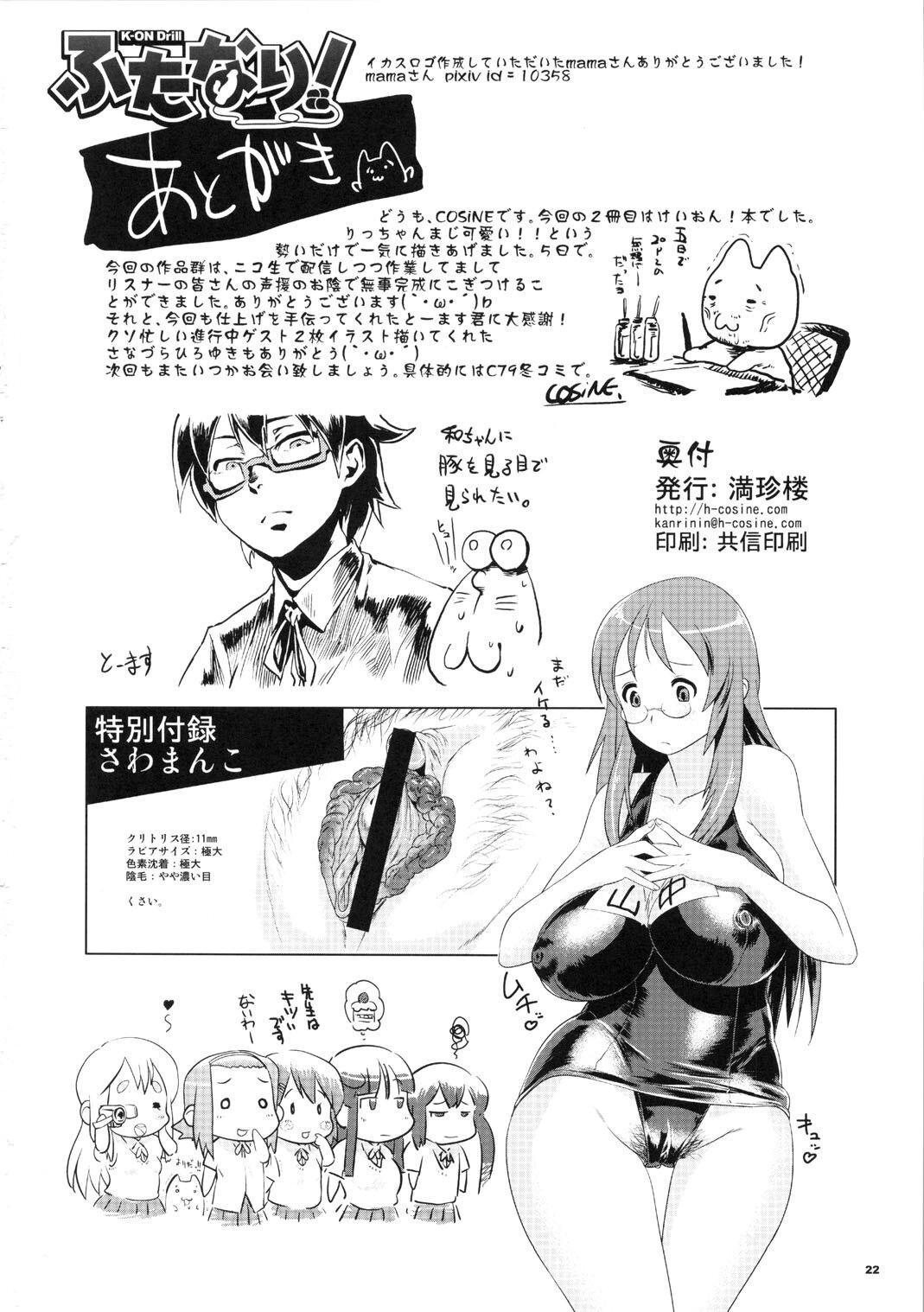 K-ON Drill Futanari! 20