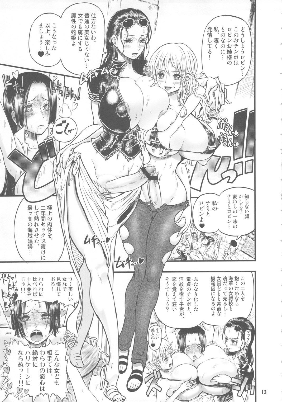 Midarezaki Kaizoku Jotei 11