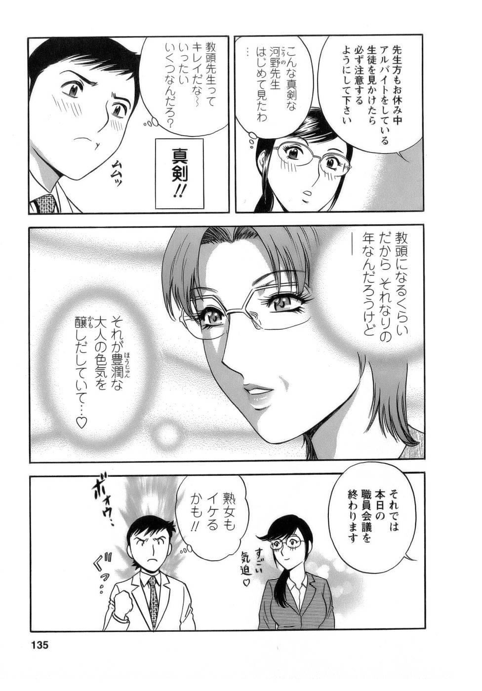 [Hidemaru] Mo-Retsu! Boin Sensei (Boing Boing Teacher) Vol.1 134
