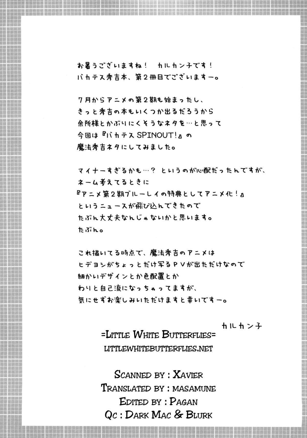 Mahou Hideyoshi Rinkan!   Magical Hideyoshi Gang Rape! 3