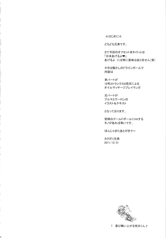 Nippon Ageruyo 2