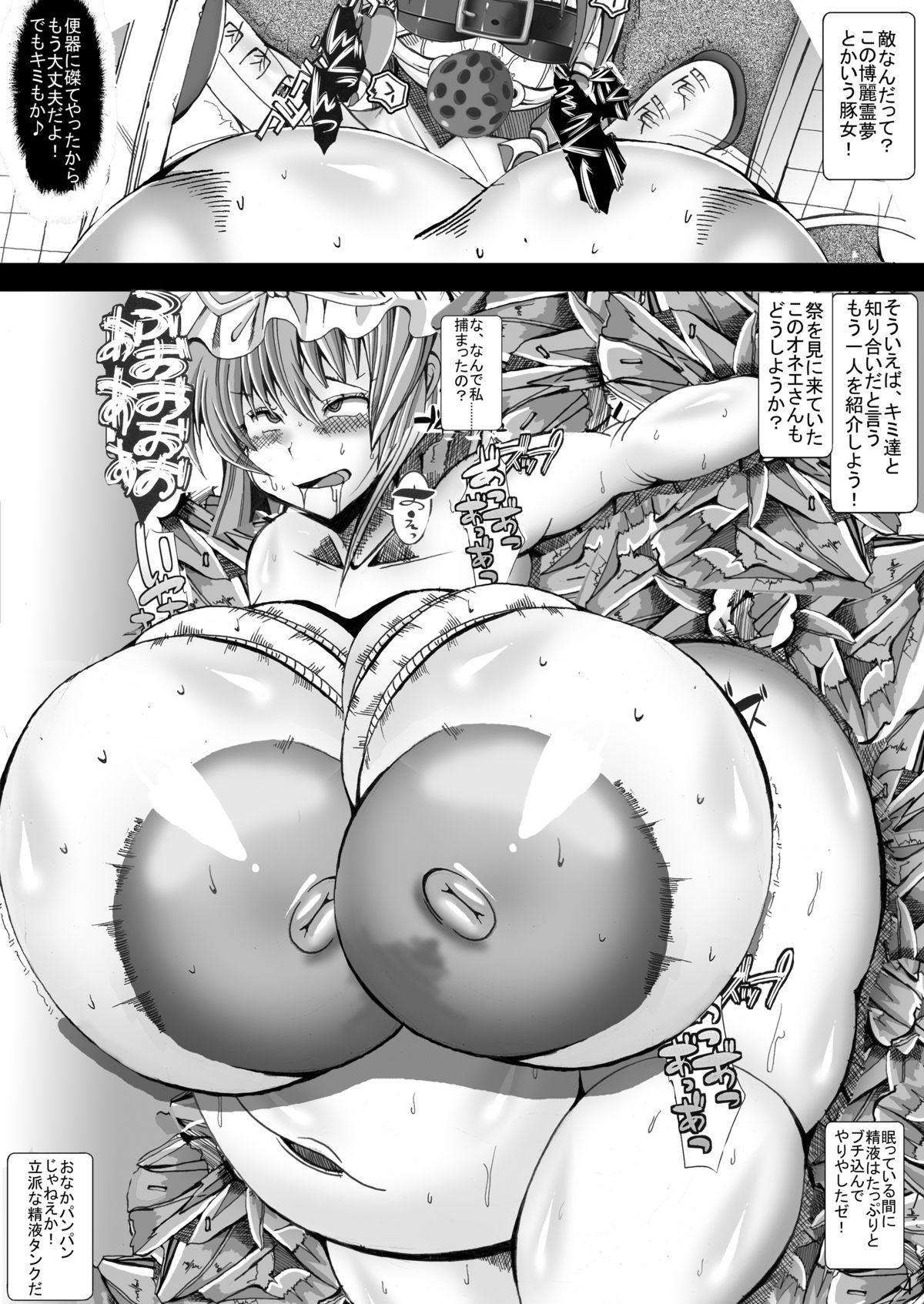 Touhou Chichi Nikusai Vol. 2 2