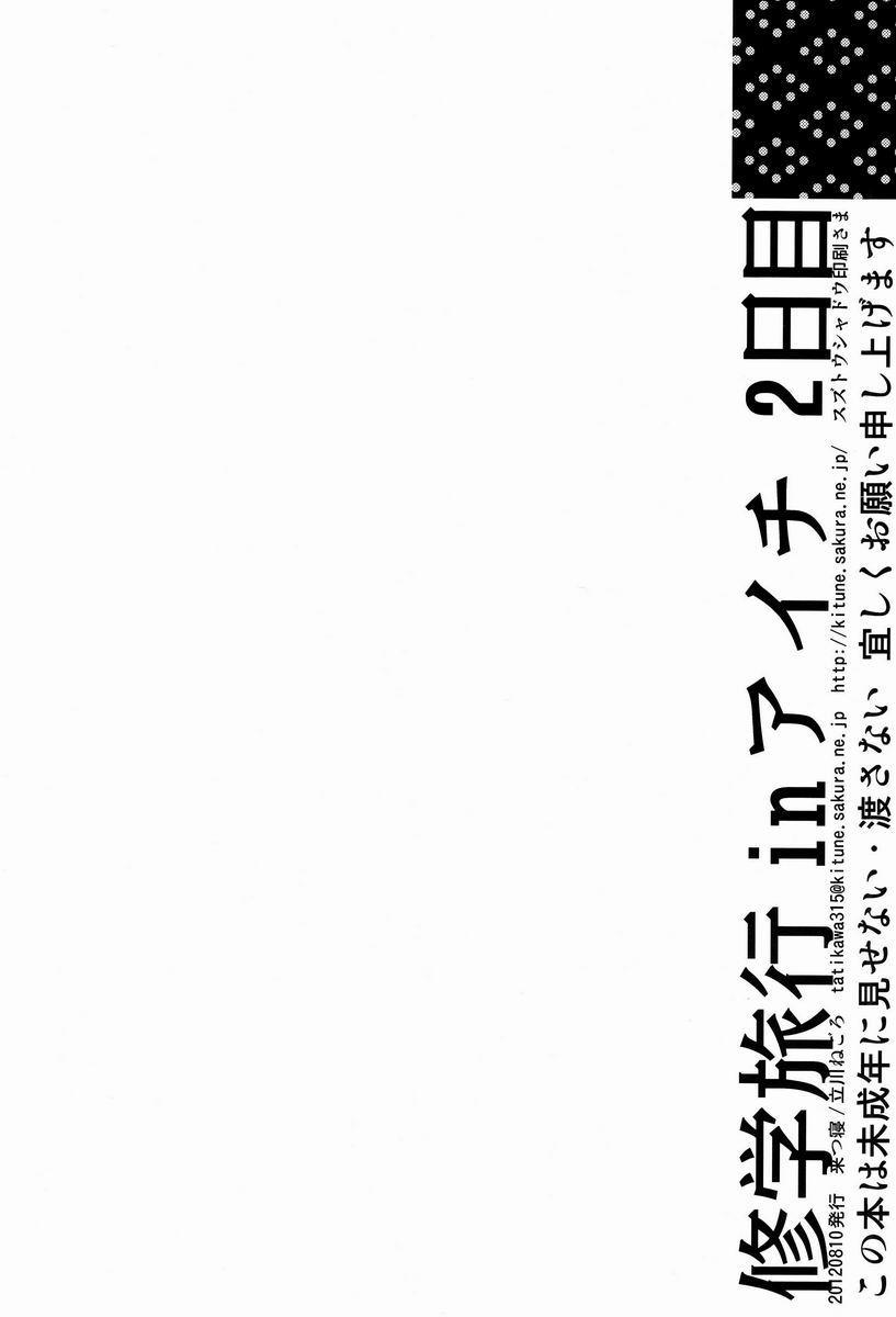 Shuugakuryokou in Aichi 2-nichime 32