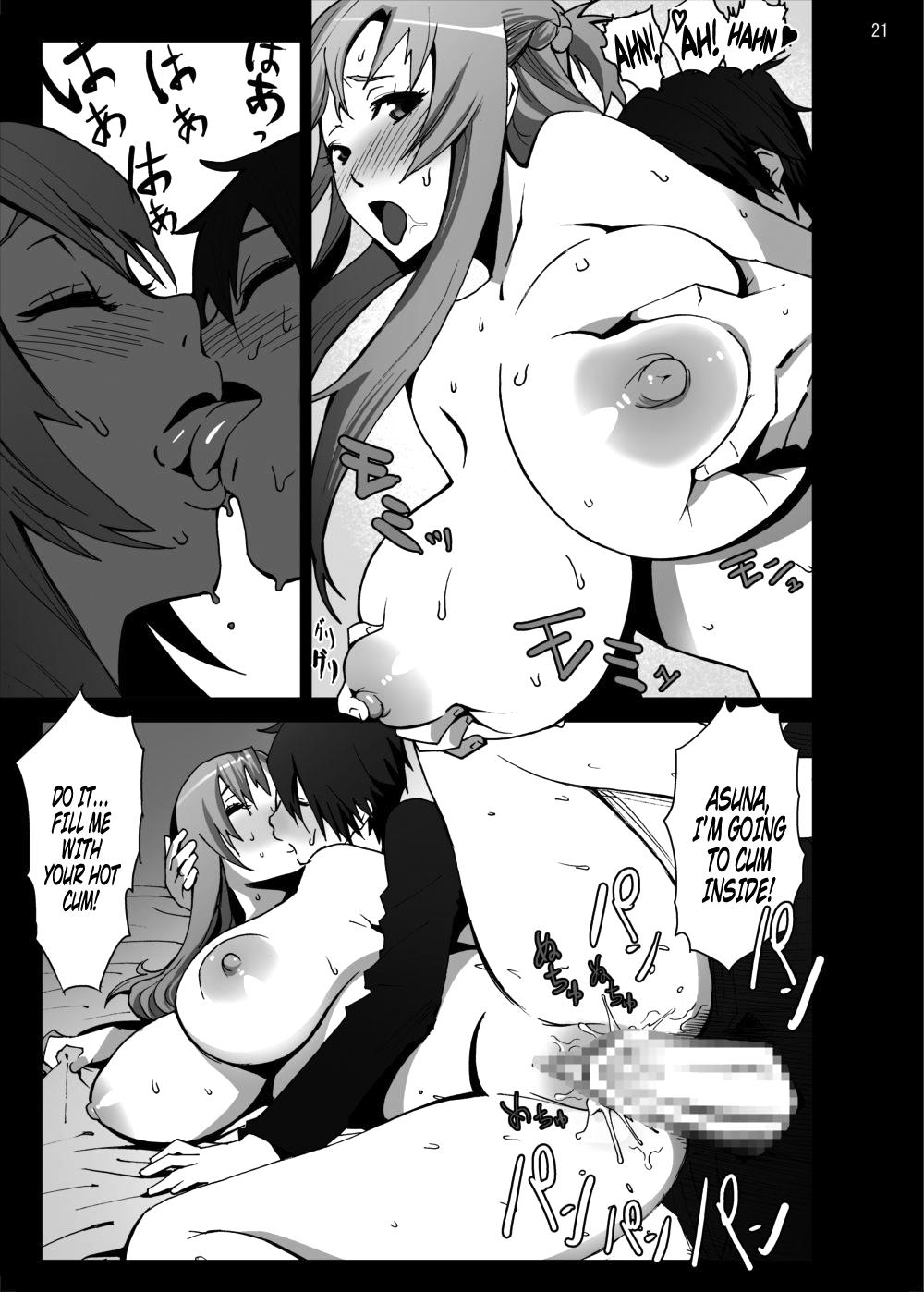 Asuna o Bakunyuu ni Shite Mita | I Gave Asuna Giant Tits 20