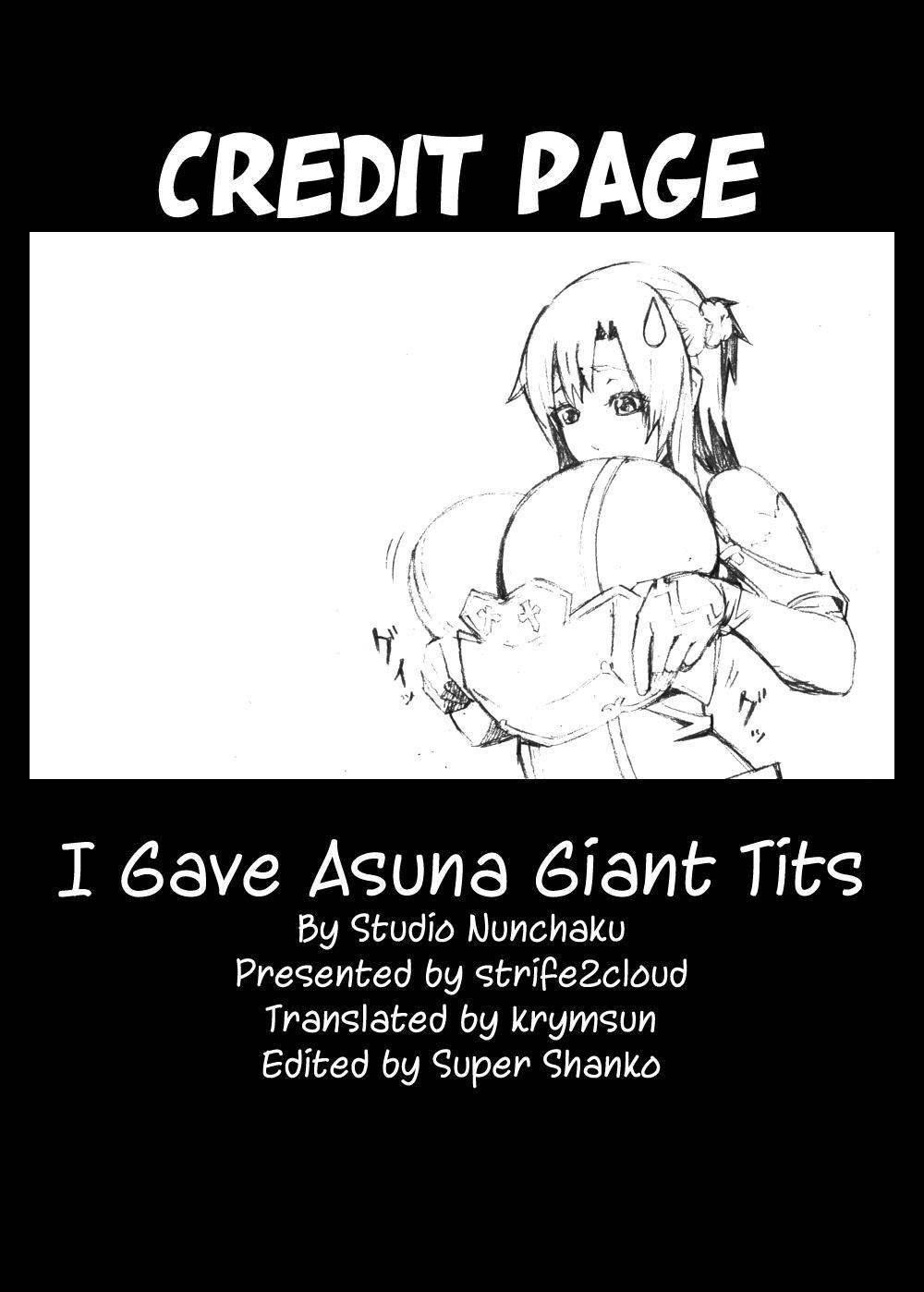 Asuna o Bakunyuu ni Shite Mita | I Gave Asuna Giant Tits 26