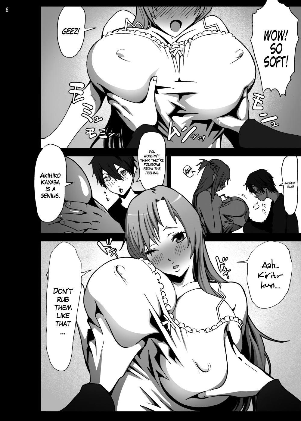 Asuna o Bakunyuu ni Shite Mita | I Gave Asuna Giant Tits 5