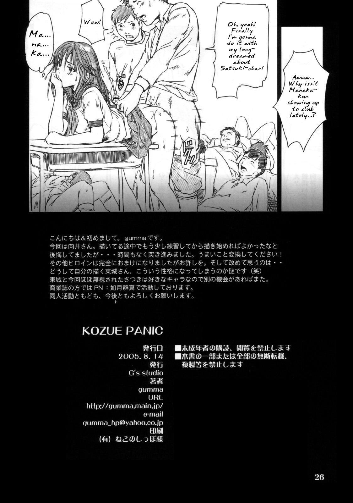 Kozue Panic 24