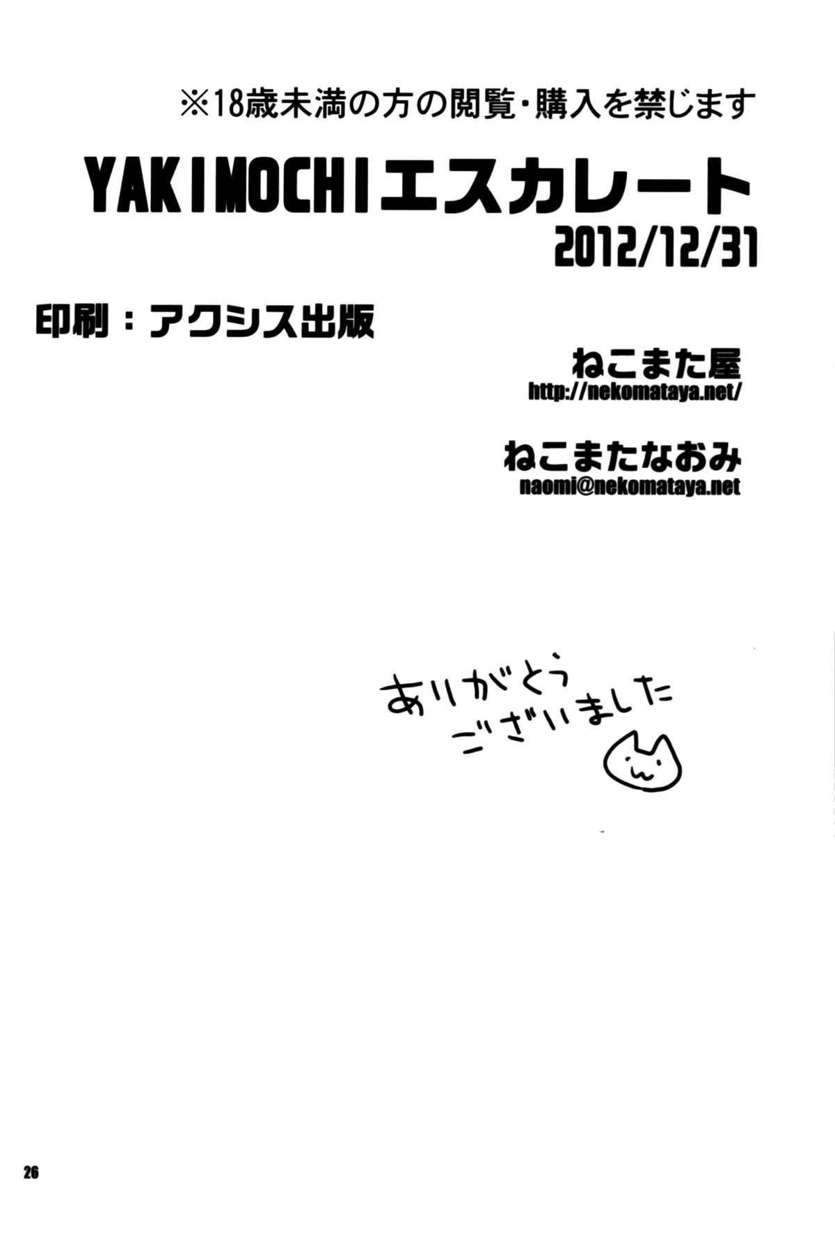 YAKIMOCHI Escalate 24