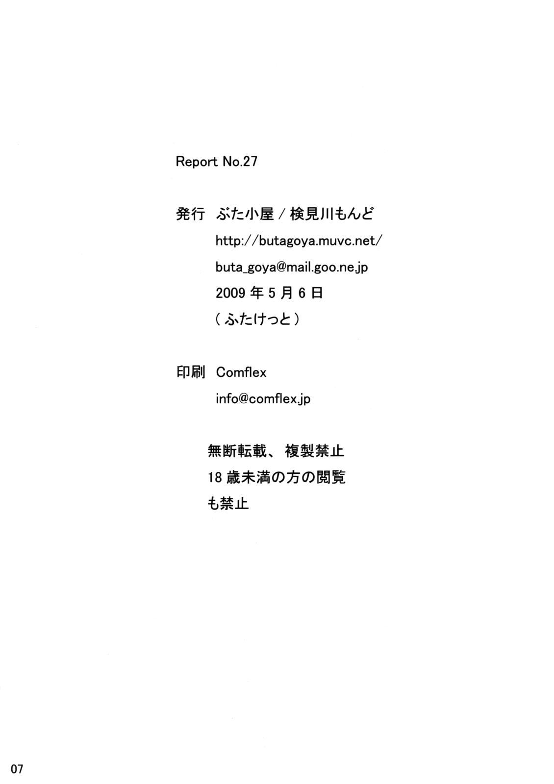 Report No.27 6