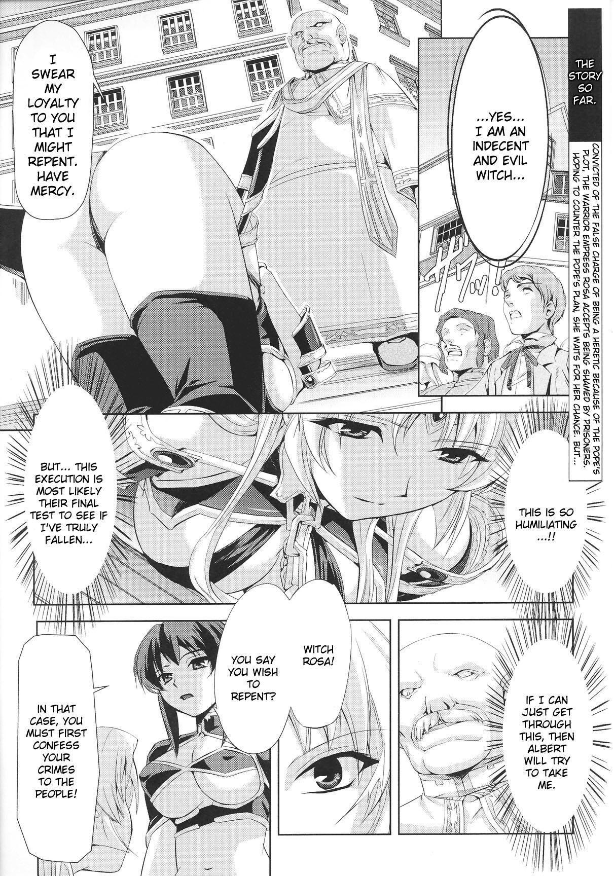[Sukesaburou × Chikuma Juukou] Kurobara no Kishi ~Seitei Rosa~   Black Rose Knight - Holy Empress Rosa [English] 101