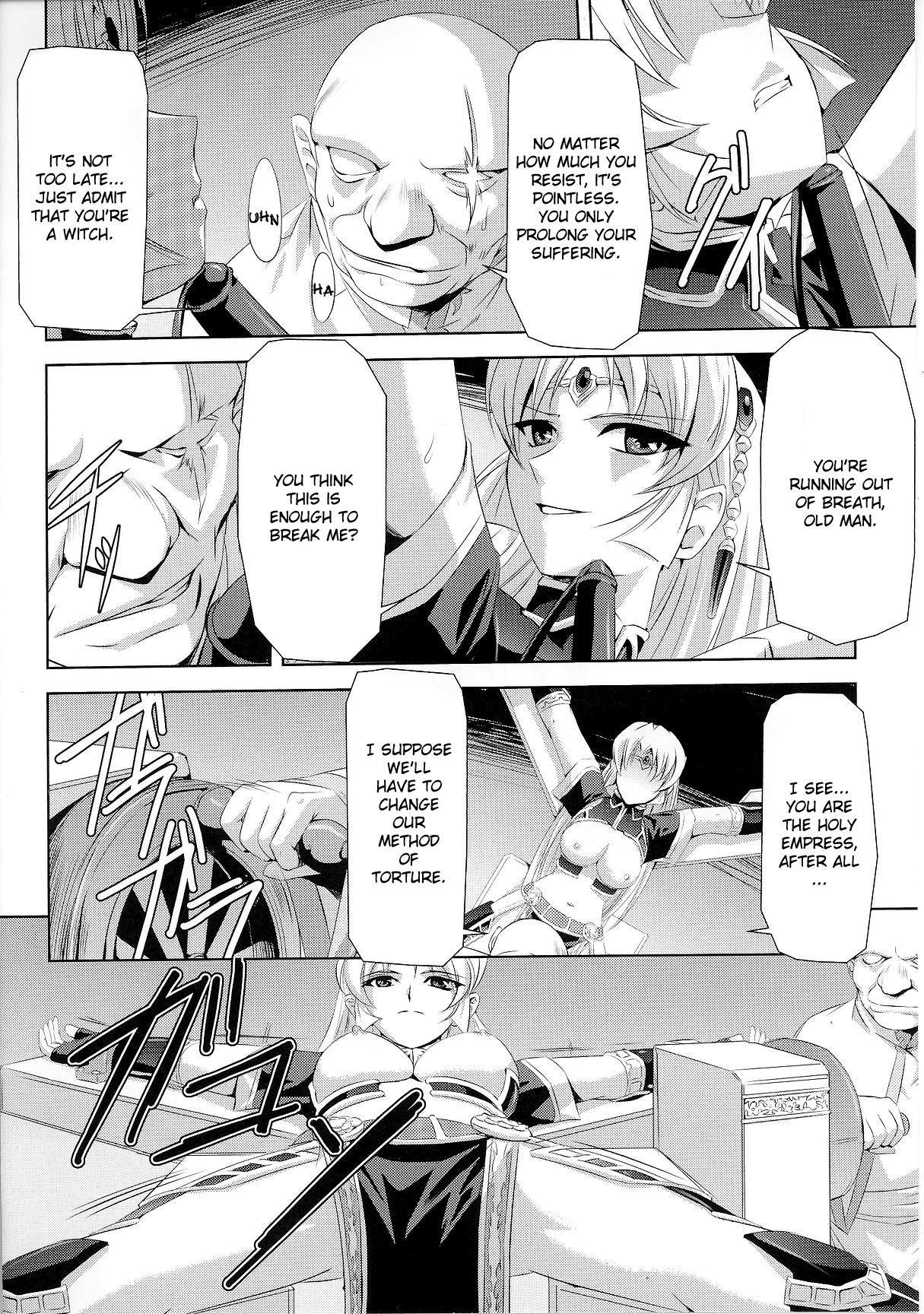 [Sukesaburou × Chikuma Juukou] Kurobara no Kishi ~Seitei Rosa~   Black Rose Knight - Holy Empress Rosa [English] 50
