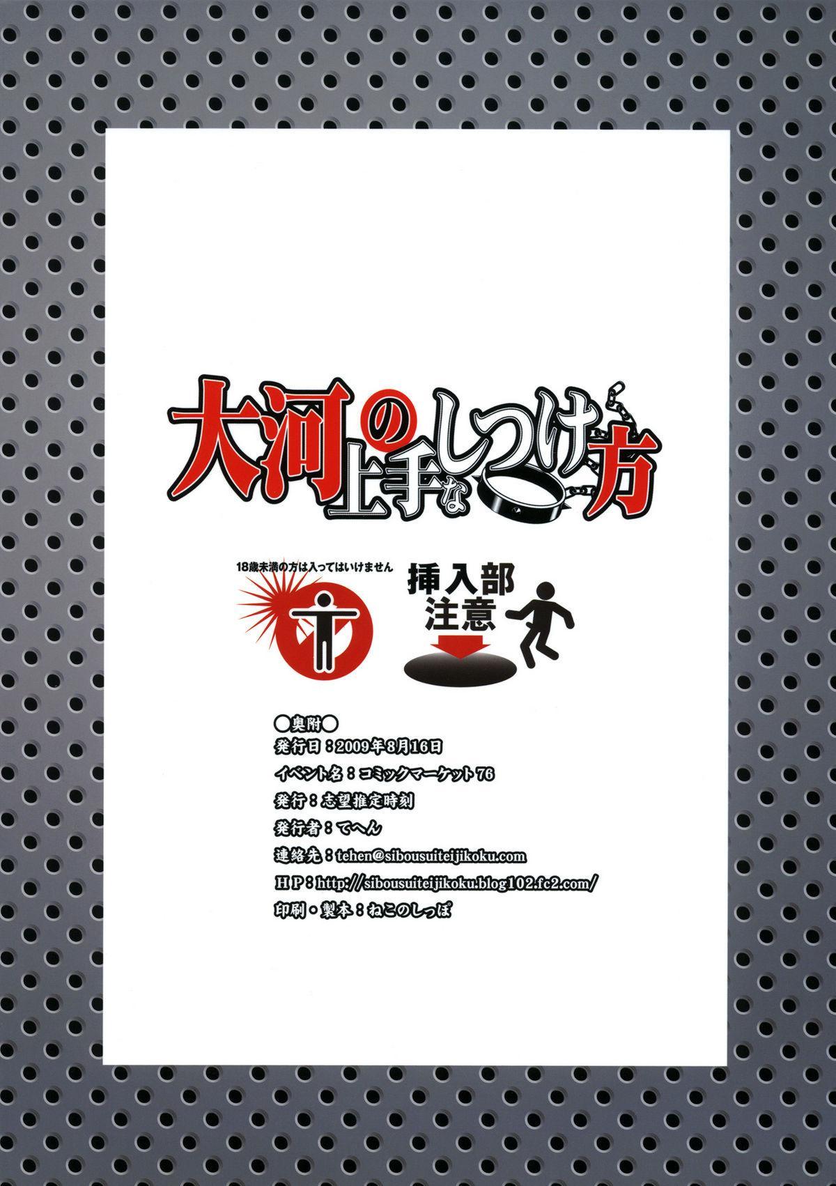 Taiga no Jouzu na Shitsukekata 25