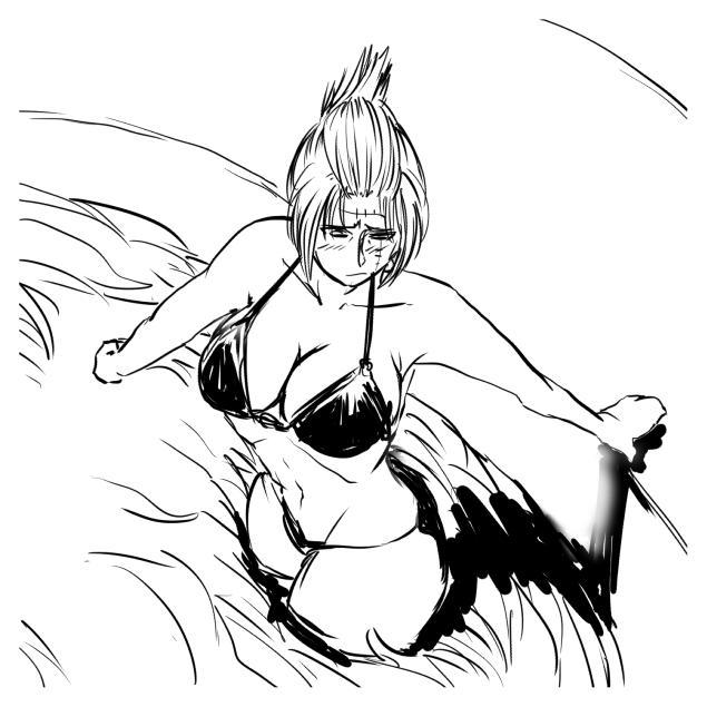 Tsukuyo ga Shokushu Furo de Naburareru! 7